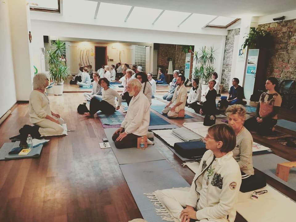 Yoga e meditazione con Roberta