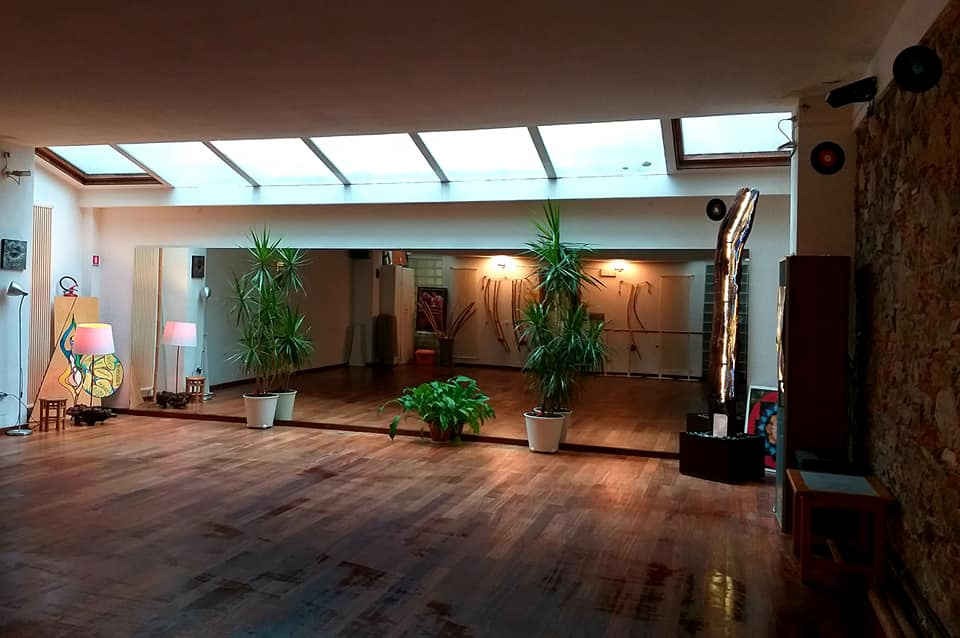 La sala del Centro Culturale Antares